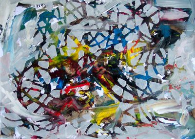Fine Art abstract painting by John Gentile